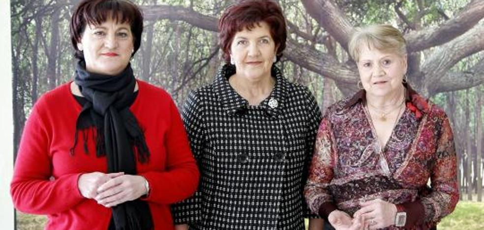 Aurora, Concha y 'Chiruca' pioneras en Fuensaldaña