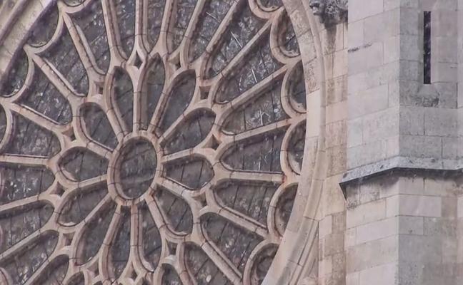 leonoticias.tv | La nieve, en la Plaza de la Catedral y en 360º