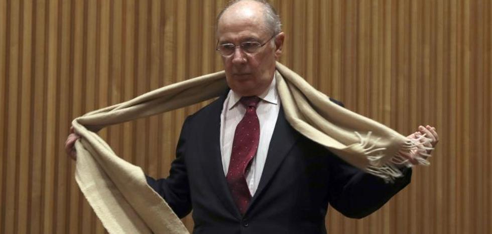 Rato acusa a De Guindos de perpetrar el rescate de Bankia con la competencia para beneficiarse
