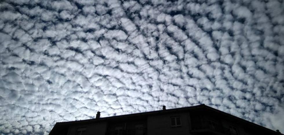 El 'picazo leonés' de las nubes