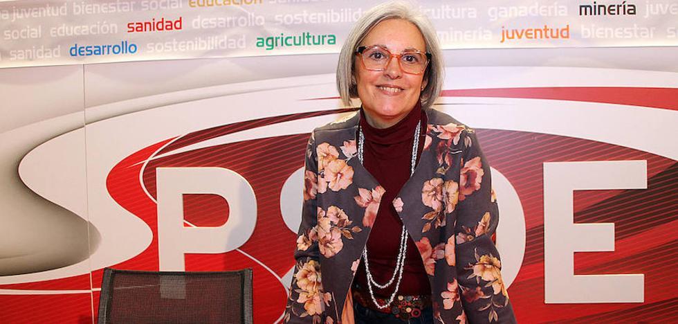 Belén Castañón aspira a «abrir las ventanas y ventilar» un PSOE local «que no es un cortijo ni puede tener dueño»