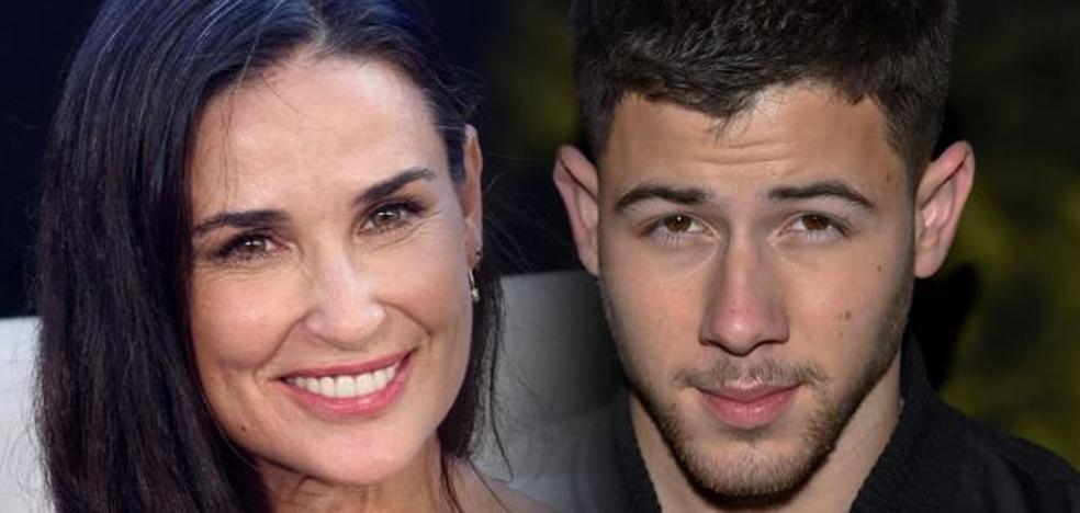 Nick Jonas, ¿el nuevo yogurín de Demi Moore?