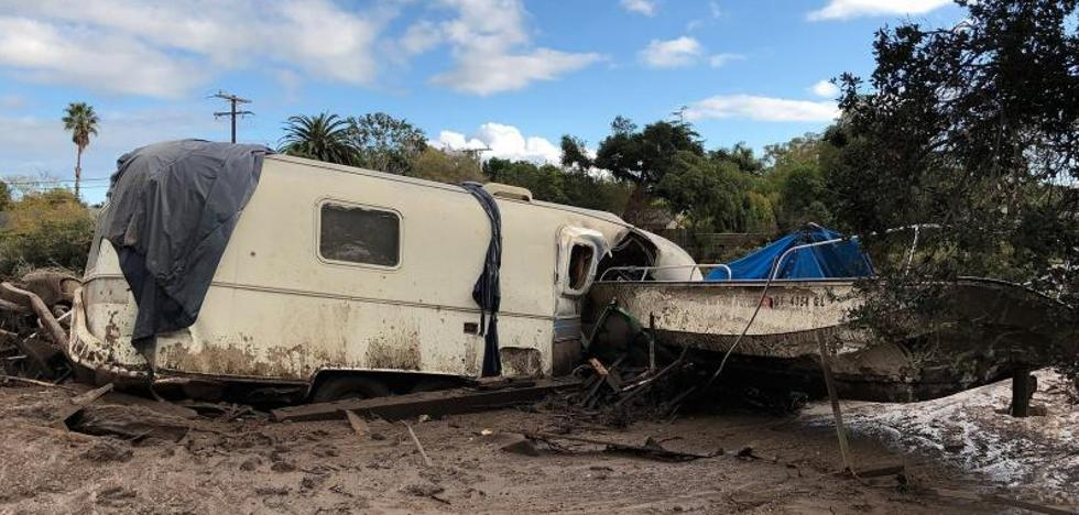Las inundaciones dejan al menos trece muertos en California