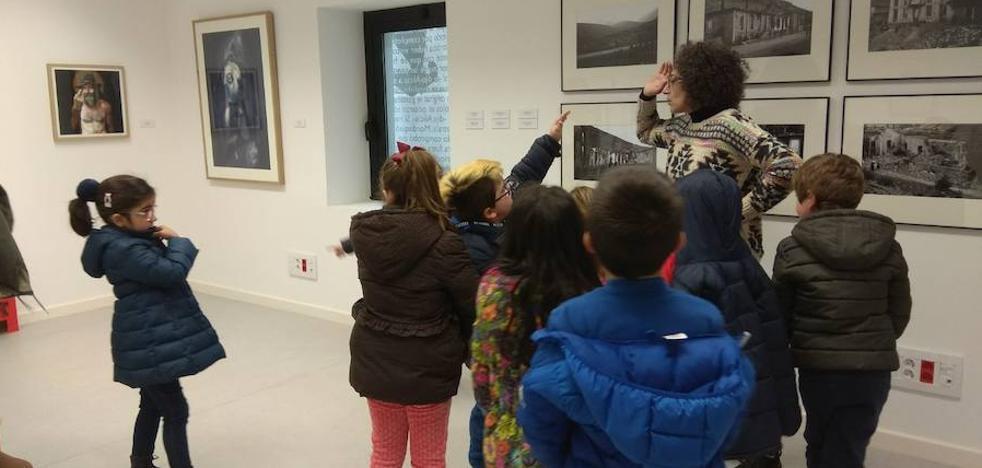 Los alumnos del colegio de La Pola de Gordón disfrutan de una jornada diferente en el centro de La Vid