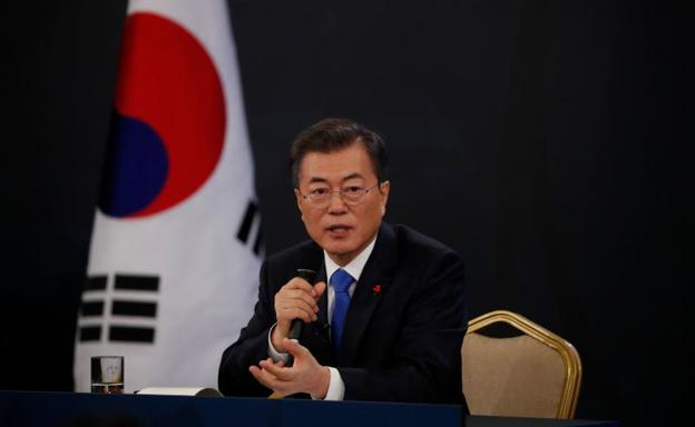 El presidente surcoreano, Moon Jae-in./AFP
