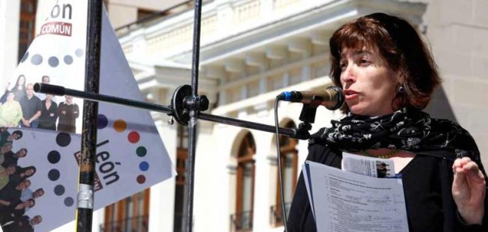 Victoria Rodríguez: «nos da rabia que hagan esto, nos han dado los presupuestos esta mañana»