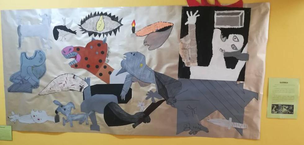 Picasso inunda el colegio Menéndez Pidal