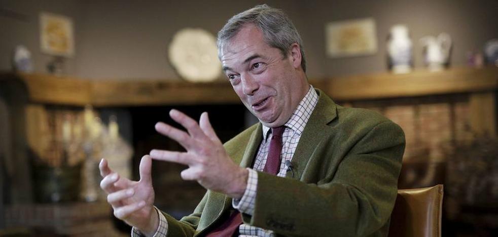 Farage propone otro referéndum sobre el 'Brexit' y cerrar el debate