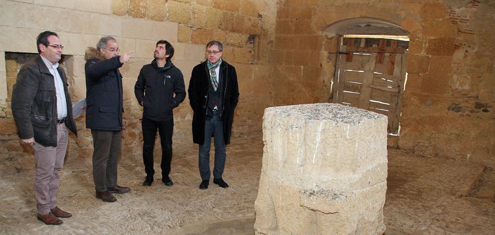 El Monasterio de Sandoval rejuvenece gracias a una inversión de 100.000 euros