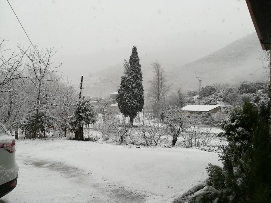 Nieva en la provincia