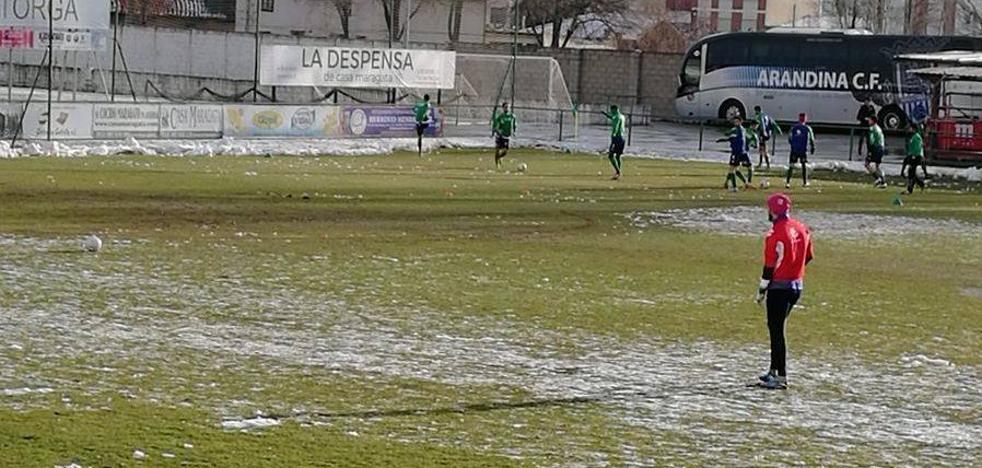 El Astorga tropieza con la nieve