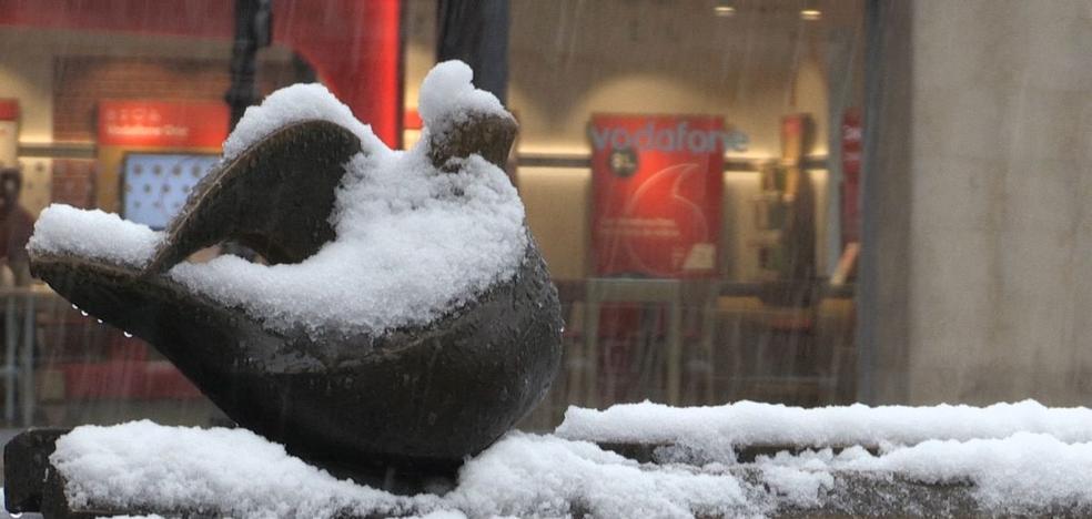 Las mejores imágenes de León capital bajo la nieve