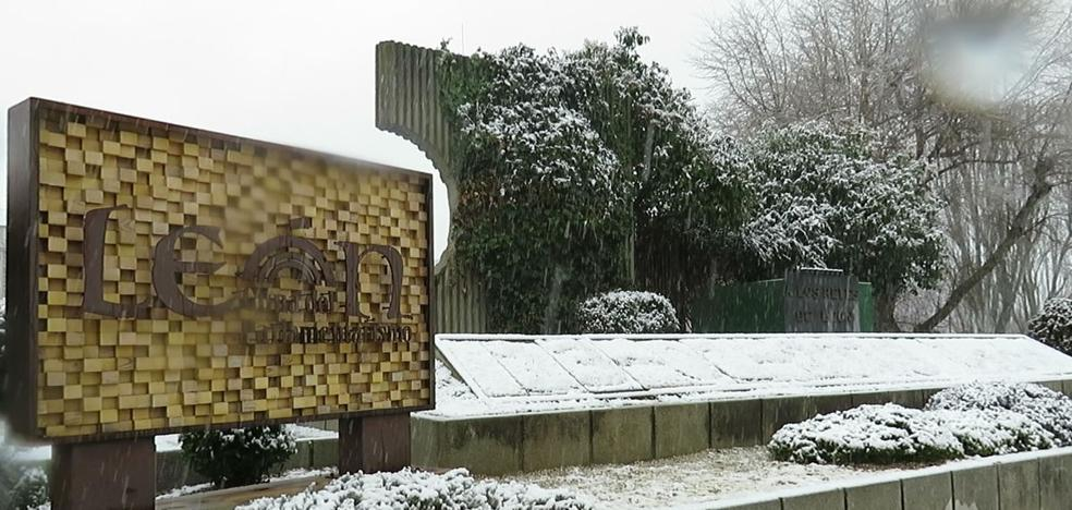 Temperaturas de hasta diez grados bajo cero y sol tras la nevada en la capital