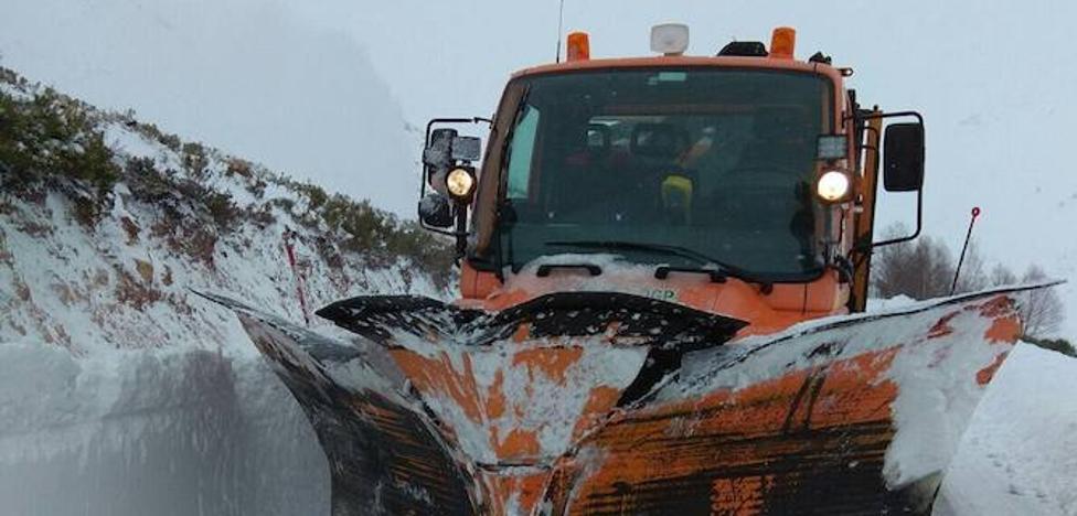La Diputación trabaja con todos los medios operativos del Plan de Vialidad Invernal