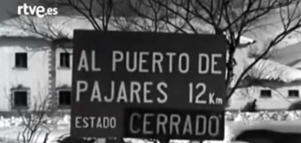 La nevadona que incomunicó Asturias y León en los 50