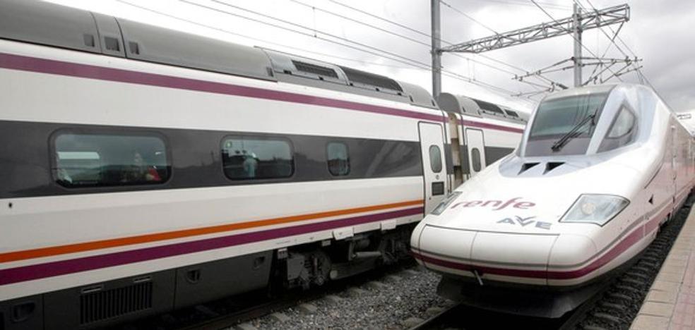 El hielo acumulado obliga a realizar un transbordo de pasajeros en León del Alvia Gijón-Alicante
