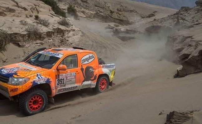 Calleja abandona el Dakar en la séptima etapa