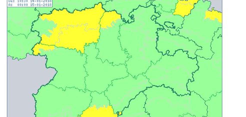 Advierten de temperaturas mínimas de entre -6º y -7ºC en Ávila, León, Palencia y Zamora
