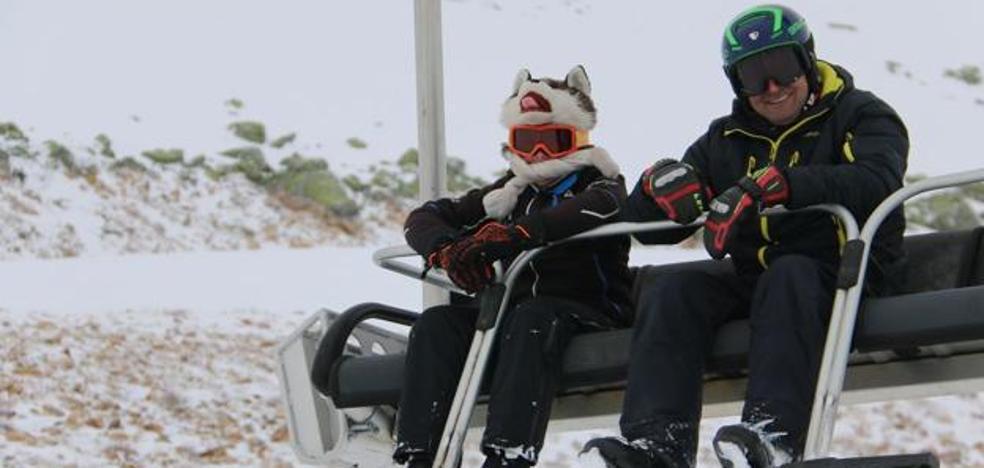 Las estaciones de esquí leonesas registran el mejor arranque de las últimas cuatro temporadas