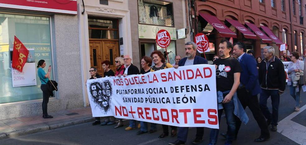 Las plataformas por la Sanidad Pública de León animan a participar en la manifestación de Valladolid