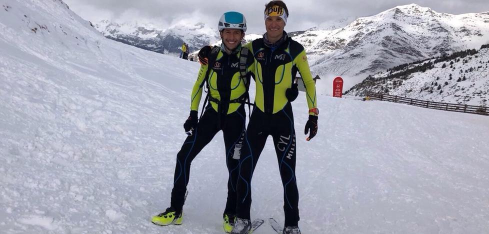 Manuel Merillas, noveno en el Campeonato de España de Skimo