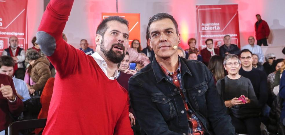 Luis Tudanca: «Es necesaria una solución para los salarios de hoy y las pensiones de mañana»