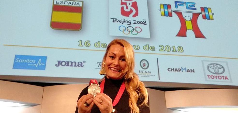 Lydia Valentín ya tiene su plata