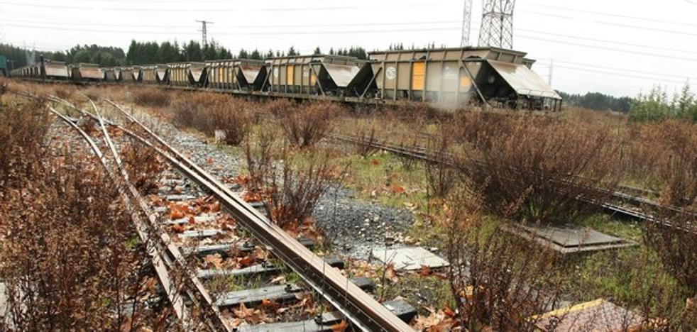 Denuncian la desaparición de 25 metros de vías de la línea del Ponfeblino a la altura de Cubillos del Sil