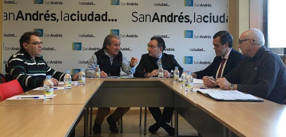 Los ayuntamientos de San Andrés y León afianzan la colaboración en la prestación del servicio de Bomberos