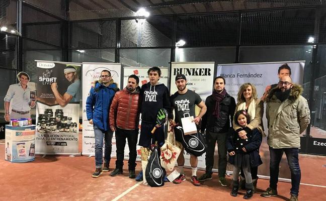 Jorge Martínez y Víctor Recuero, campeones del Torneo de Año Nuevo de Central Padel León
