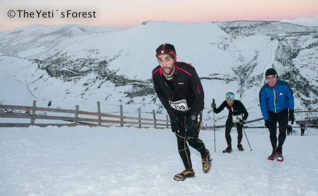 El Snow Cross Leitariegos suma al snow running el esquí de montaña