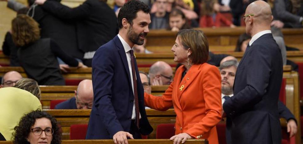 Los comuns se abstendrán y Torrent podrá ser elegido presidente del Parlament