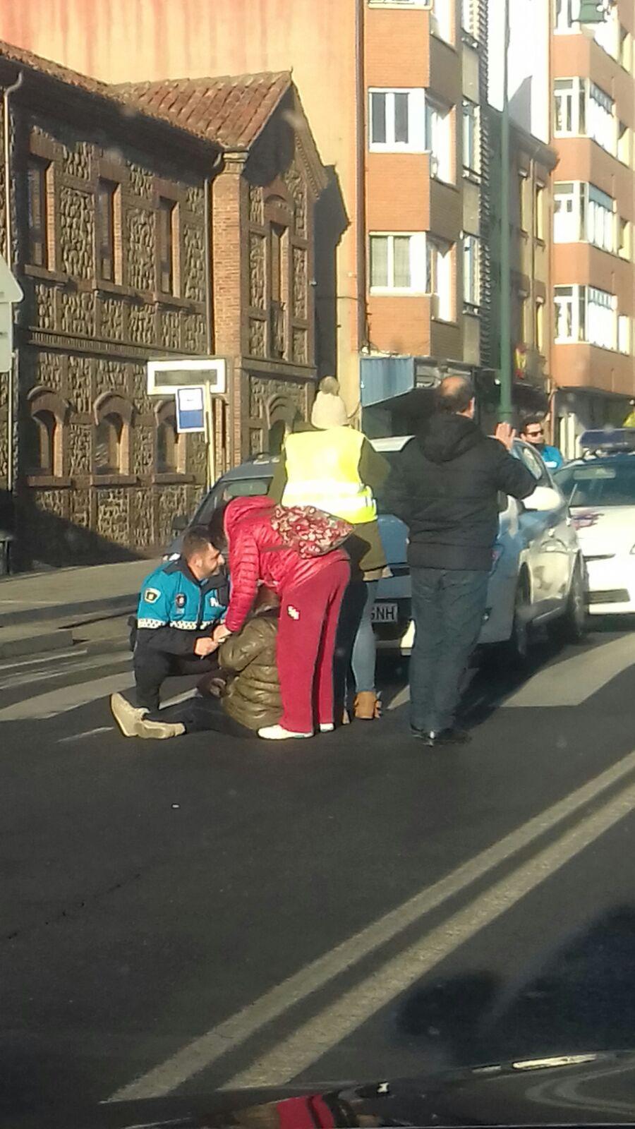 Atropello en el Barrio del Crucero