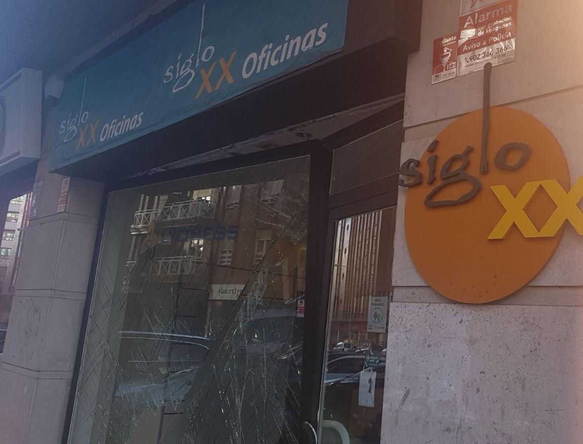 Alunizaje en el centro de León