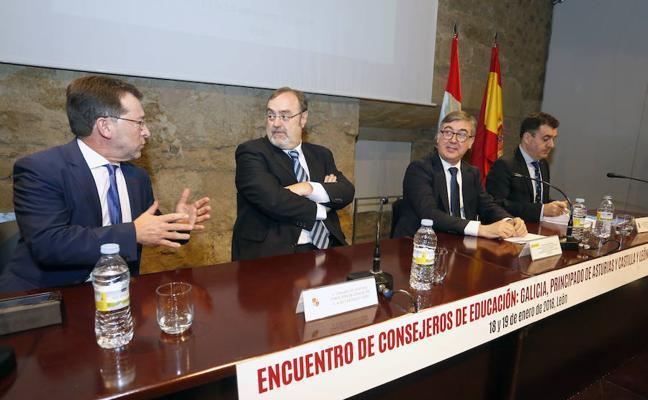 Tres autonomías exaltan en León sus sistemas educativos como base para un pacto nacional