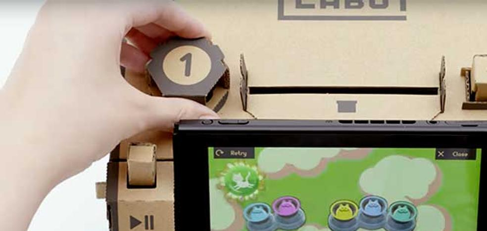 Nintendo se pasa al cartón