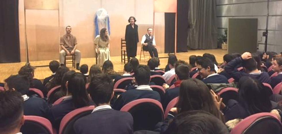 Los alumnos de La Asunción disfrutan del teatro de Lorca