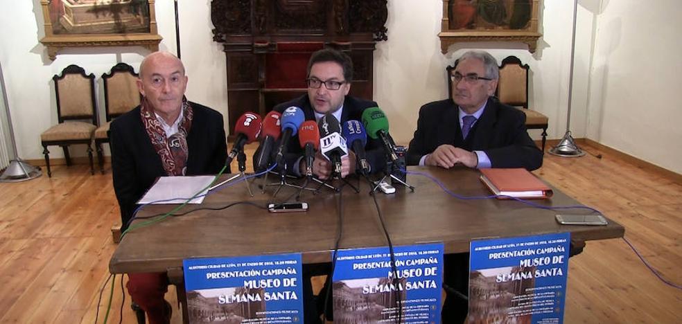 El Museo de la Semana Santa busca el 50% de la financiación de la obra entre los leoneses