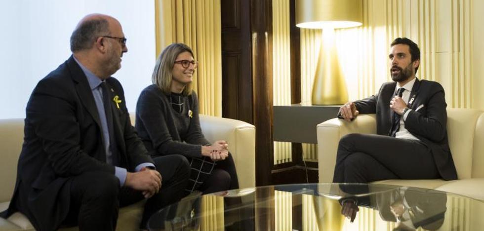 ERC no garantiza la investidura telemática de Puigdemont