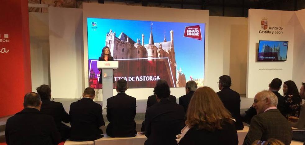 Astorga estrena su presencia en China en la presentación del Gaudí World Congress de Fitur