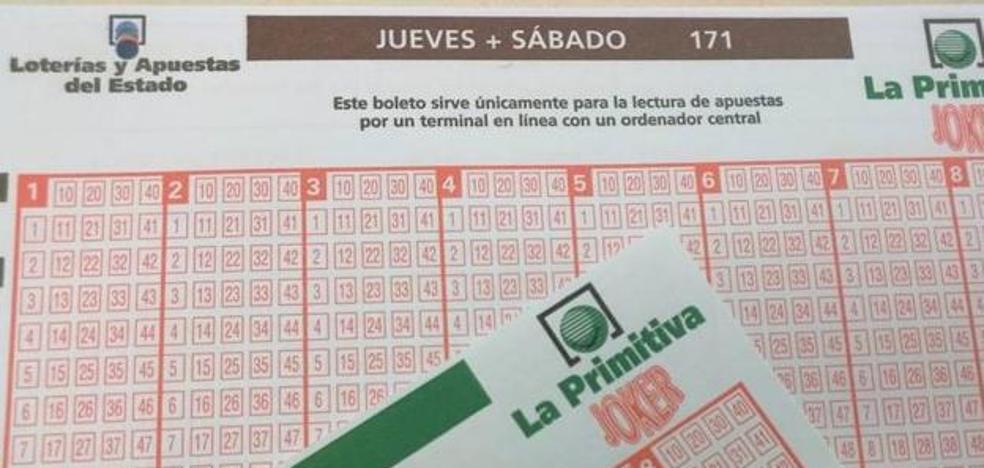 La Primitiva deja un premio de 82.000 euros en La Bañeza