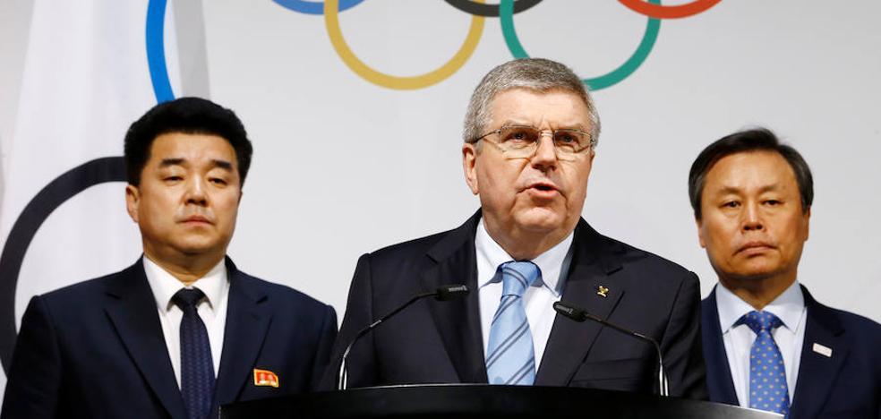 Las dos Coreas desfilarán juntas en Pyeongchang, donde habrá 22 norcoreanos