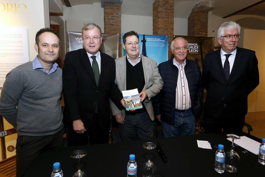 Presentación del libro 'Gaudí. Ruta por el noroeste de España'