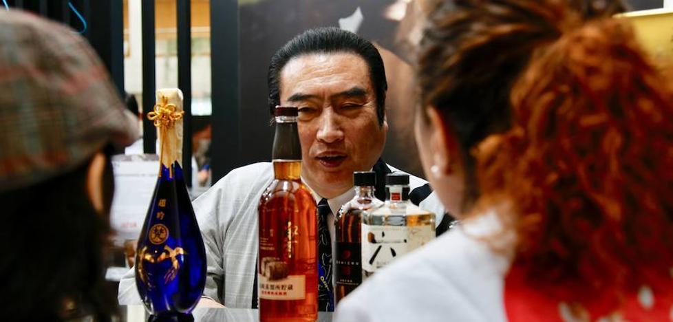 Sake y jabugo, un matrimonio feliz