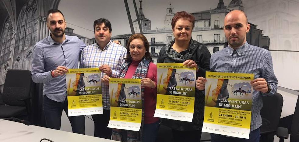 La vida de 'Miguelín' de Cervantes protagoniza el III Concierto Solidario de Amnistía Internacional