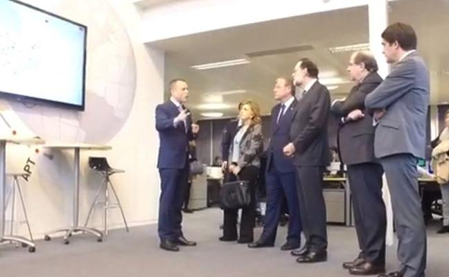 leonoticias.tv | Visita de Mariano Rajoy al Incibe de León