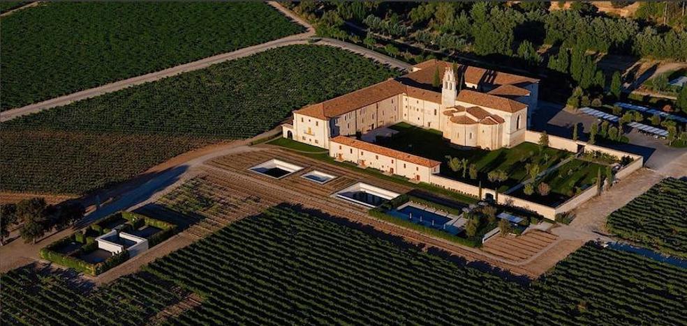 Abadia Retuerta Le Domaine en Sardón de Duero, mejor hotel de España según Tripadvisor