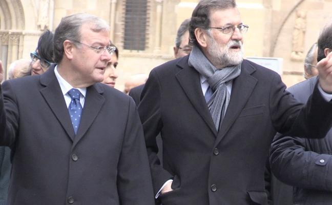 El Silván más reivindicativo ofrece León a Rajoy para impulsar proyectos «y convertirla en tierra de oportunidades»