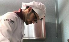 El leonés Sergio Sarmiento, en las semifinales del VI Premio Promesas de la alta cocina de Le Cordon Bleu Madrid