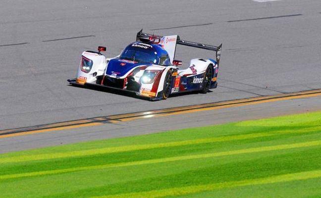 Brillo español para comenzar en Daytona, pero no Alonso